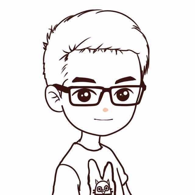 动漫 简笔画 卡通 漫画 手绘 头像 线稿 640_638
