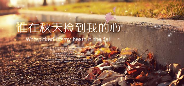 谁在秋天捡到我的心