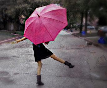 qq头像雨中的人
