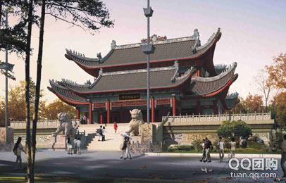三宵殿 招财殿 问道阁 赵氏宗祠 商贾步行街为核心的华夏正财神景区!