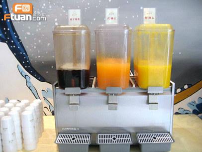高端自助茶水桶图片