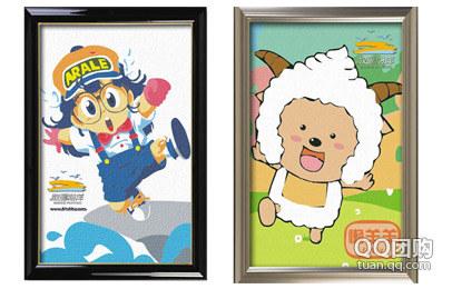 原价56元《数画海洋》diy数字油画20x30cm,店内所有图形任选一种!